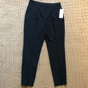 Black Dress Pants w/ Skinny Leg and Creased Front
